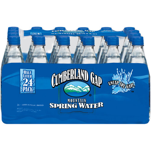 Cumberland Gap Mountain Spring Water  $4.99/24pk