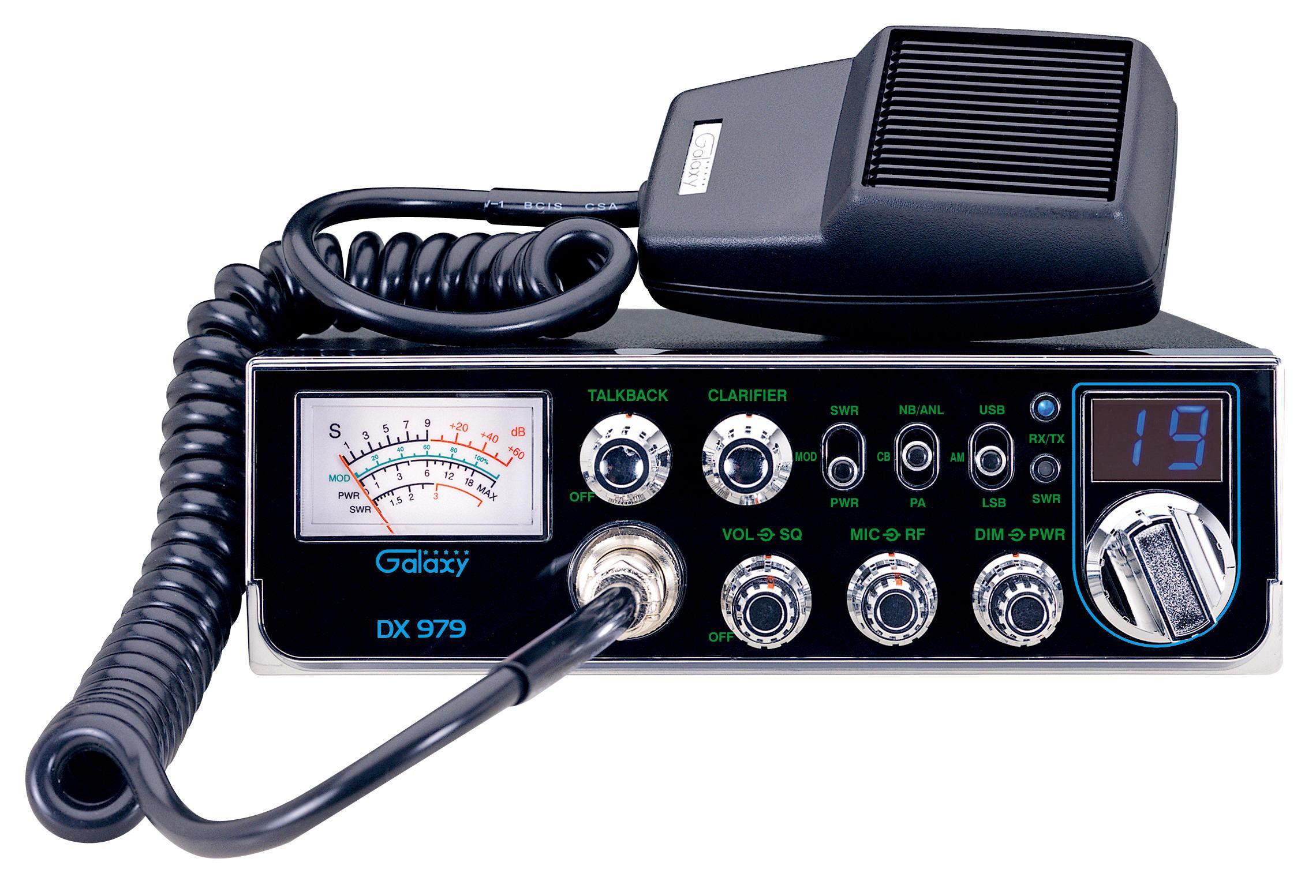40 Channel Cb Frequency Chart : Galaxy dx cb radio large image