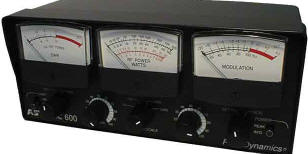 Astatic/Workman 600 SWR/Watt/Modulation Meter
