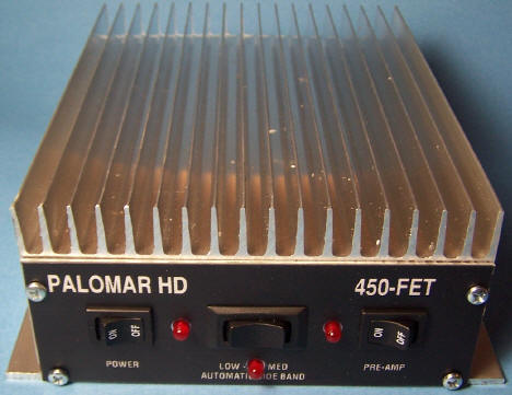 Palomar 450FET HD Amplifier ~ Palomar HD 450 FET