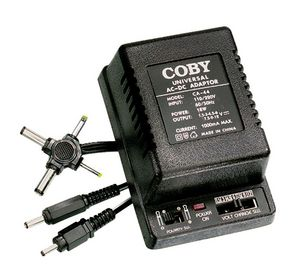 Universal AC To DC Adaptor Coby CA-44 Power Supply