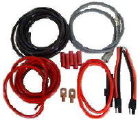Mobile Amp Hook Up Kit 15' (8ga) 600w-1200w